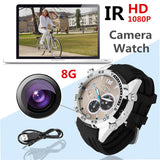 Chronograph Watch With Built In HD Camera