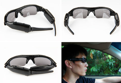 Sunglasses With Built-in Video Recording Camera