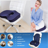 Non-Slip Memory Foam Seat Cushion