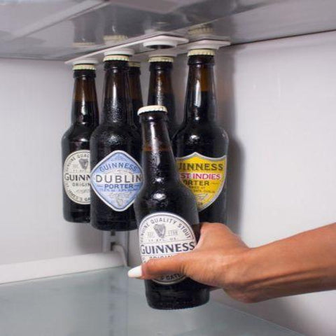 Magnetic Bottle Holder For Any Fridge