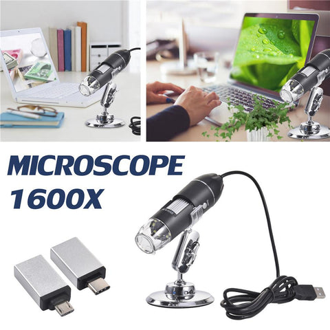 MagicZoom Microscope Magnifier For Mobile Phones