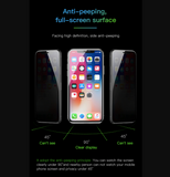 Anti-Peeping Screen Protector For iPhone