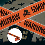 Halloween Warning Caution Tape