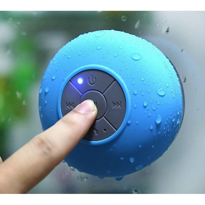 Bluetooth Shower Speaker With Suction Pad Supergadget