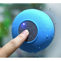 Portable Waterproof Bluetooth Speaker (with suction)