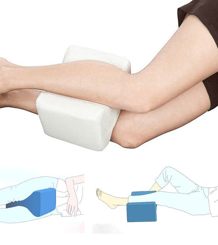 Ergonomic Memory Foam Leg Pillow (Wake Up Without Back Pain!)