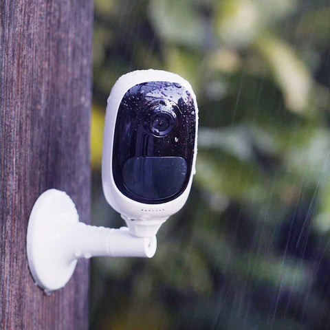 Wire-Free Outdoor Security Camera (Rechargeable Batteries or Solar Powered)