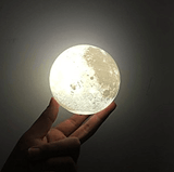 3D USB Charging Moon Lamp