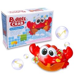 Bubble Making And Music Playing Bath Toy Crab