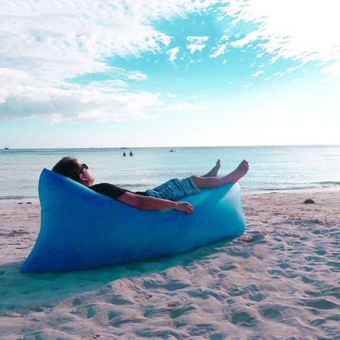 Fast Inflatable Air Sofa (Upgrade Your Camping Game!)