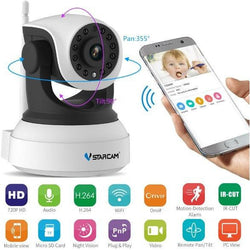 HD Wireless Security Camera with Mobile Remote View