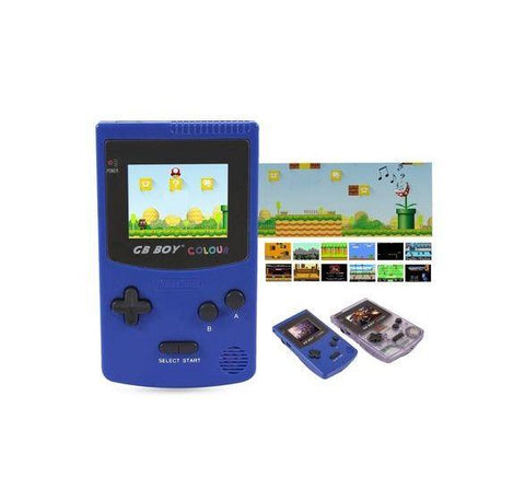 GB Boy Colour with Backlit Screen and 66+ Built-in Games