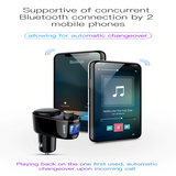 Dual USB Car Charger, Bluetooth MP3 Player And FM transmitter