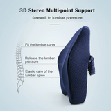 Memory Foam Lumbar and Back Support