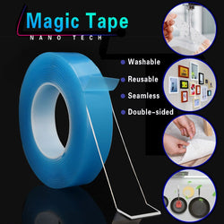Double Sided Reusable Magic Tape