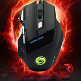 Professional 5500 DPI Gaming Mouse with 7 Buttons