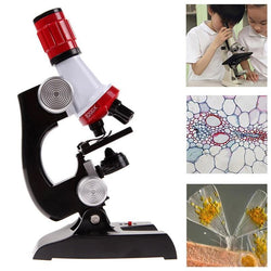 Scientific Microscope Lab Kit (1200X) - Best Educational Gift
