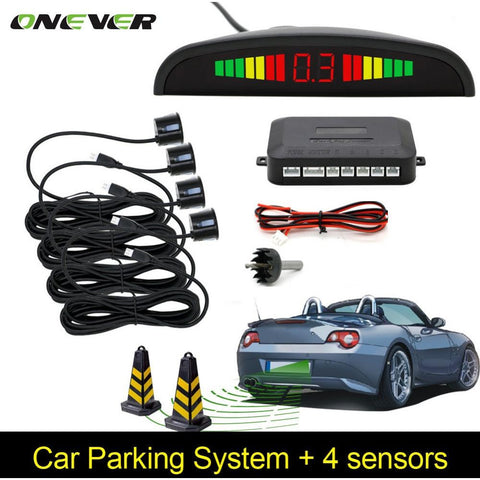 Car Parking System with 4 Sensors
