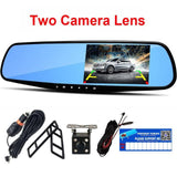 Car Rearview Mirror Camera (Dashcam + Reverse Parking)