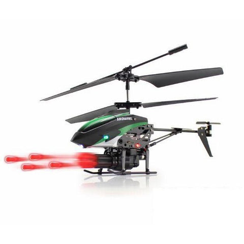Missile Launching Remote Controlled Helicopter