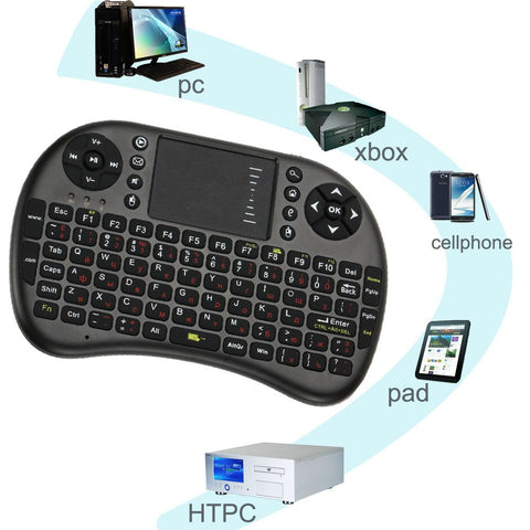 Mini USB Wireless Keyboard + Touchpad for all Android Devices