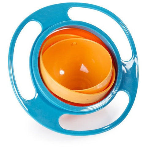 Spill-Proof Gyro Baby Bowl