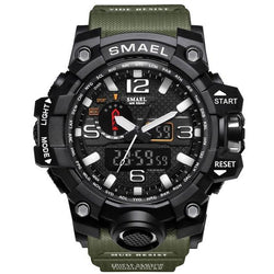 Military Style Tactical Watch - Shockproof & Water Resistant