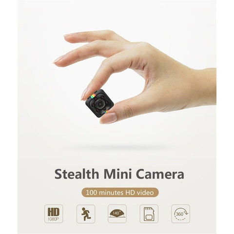 SQ11 Mini Camera (HD 1080P + Night Vision)