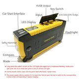 Multi-Functional Car Jump Starter Survival Kit