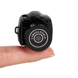 World's Smallest Digital Camera (Ideal For Wannabe Secret Agents!)
