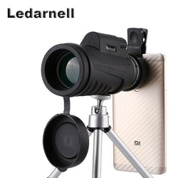 40x60 Telescope With Clip-on For Smartphones
