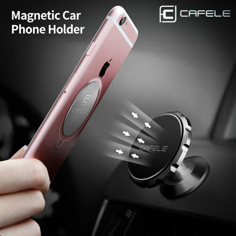 Super Strong Magnetic Car Phone Holder With 360 Rotation