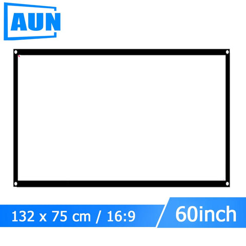 Portable Projector Screen (60 inch 16:9)