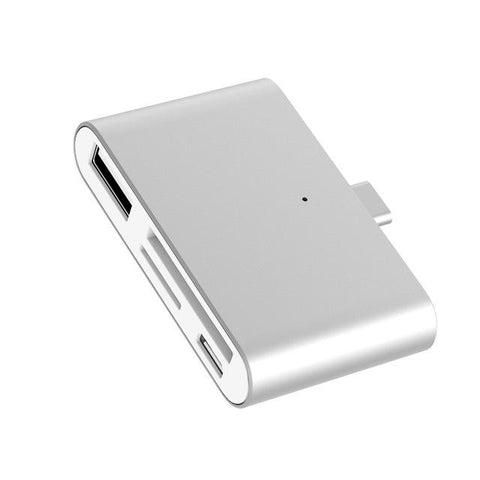 4-in-1 Type-C Hub / Card Reader