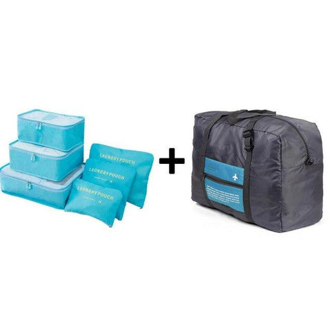 Ultimate Travel Organizer Bag Set (6+1)