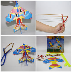 Luminous Slingshot Plane For Kids