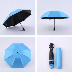Mini Reverse Folding Umbrella