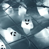 Spooky Ghost String Lights for Halloween