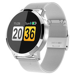 Water-Resistant Smart Watch With Touch Screen & Heart Rate Monitor