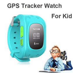 Children's Smart Watch With Built-in GPS Tracker