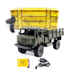 Remote Control 4WD Off-Road Military Truck