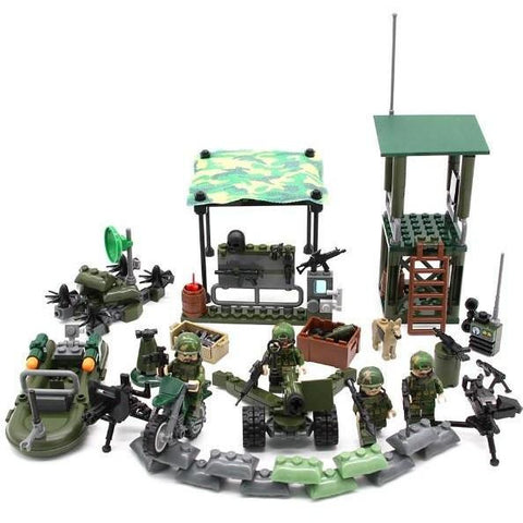 Army Special Forces Building Block Set