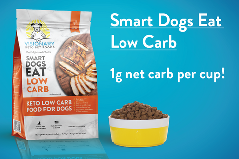 low carb keto dog food
