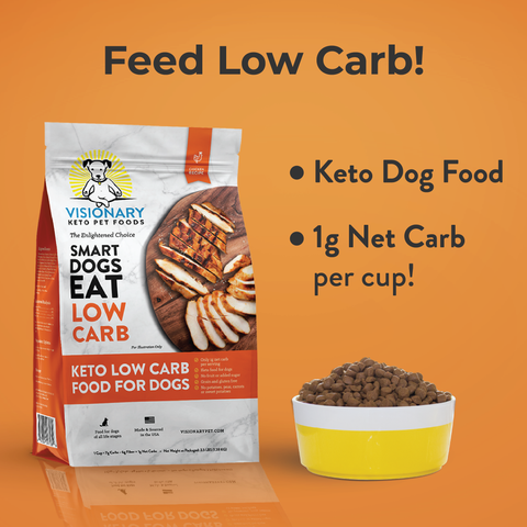 keto low carb dog food