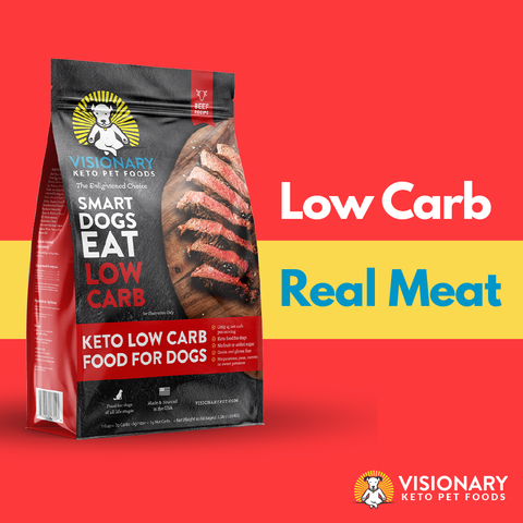 low carb real meat dog food