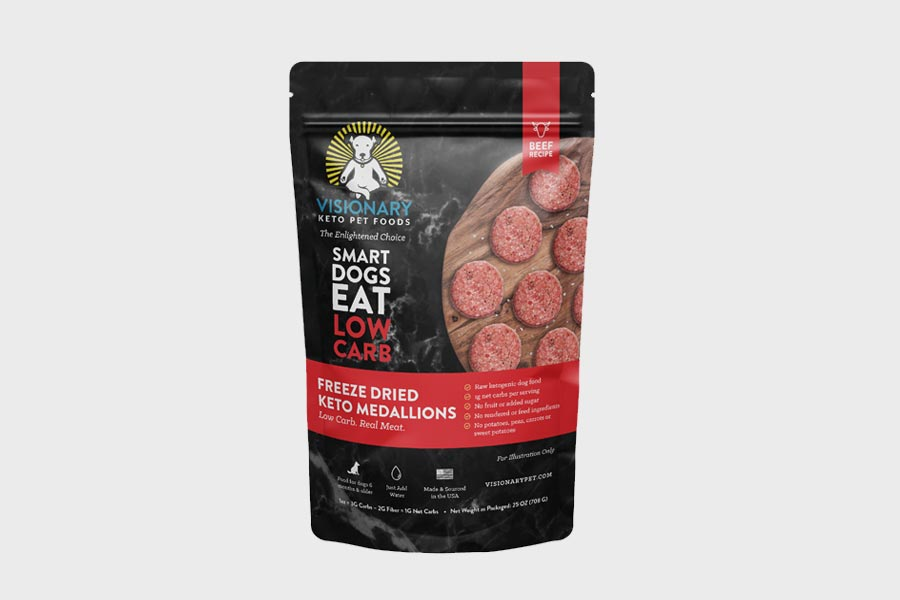 Freeze-Dried Keto Dog Food