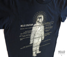 Astronaut T-shirt (gold)
