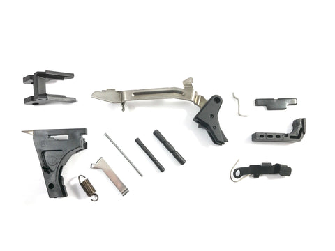 Frame Completion Kit w/Shadow Systems Elite Trigger, Fits Glock 19 Gen 3. Parts for Polymer 80 build or Upgraded Custom Glock Parts