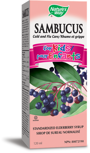 Natures Way Original Sambucus For Kids