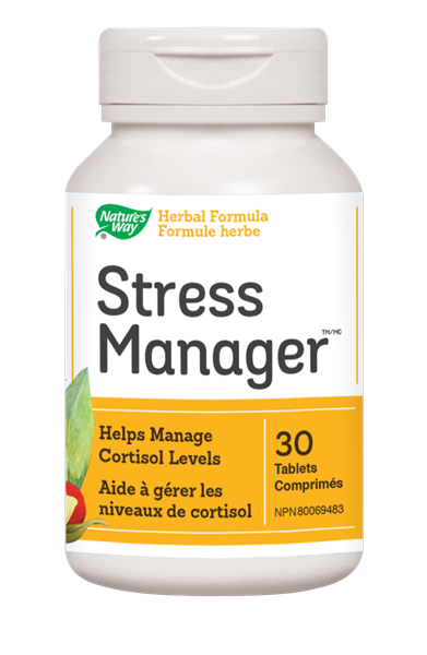 NATURE'S WAY STRESS MANAGER 30 TB